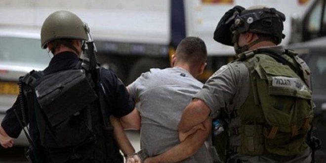 حمله اشغالگران صهیونیست به کرانه باختری و بازداشت 11 فلسطینی