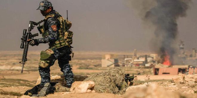 """کشف پناهگاه وابسته به گروه های تروریستی """"داعش"""" به همراه مواد منفجره و بمب استان دیالی در عراق"""