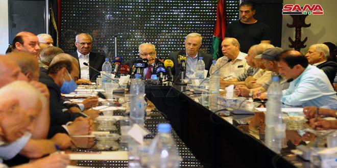 دمشق: جناح های مقاومت فلسطین طرح های اسرائیل برای الحاق اراضی فلسطین را محکوم کردند