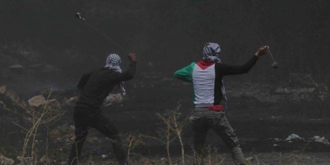 جراحت ده ها فسطینی در سرکوب تظاهرات کفر قدوم توسط نیروهای اشغالگر صهیونیست