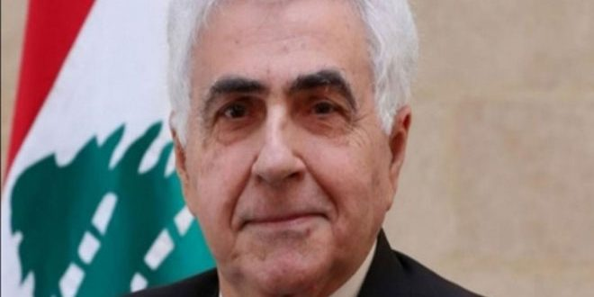 وزیر امور خارجه لبنان استعفا داد