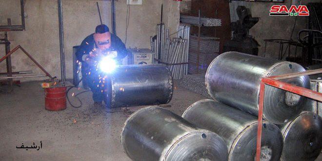 فعالیت 1124 واحد صنعتی در استان لاذقیه