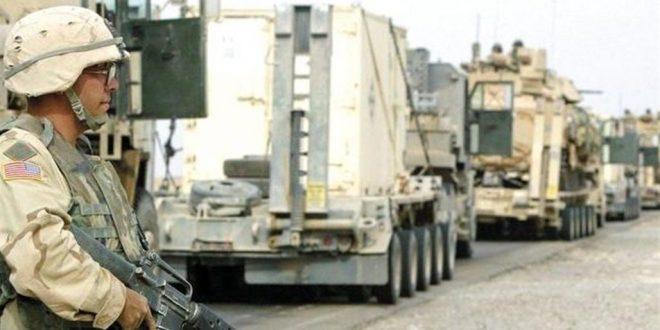 """انفجار در مسیر کاروان نظامی متعلق به نیروهای """"ائتلاف بین المللی"""" در شمال پایتخت عراق"""
