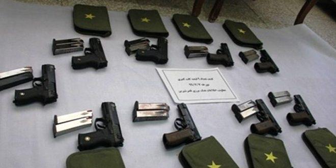کشف یک محموله سلاح توسط هنگ مرزبانی در کرمانشاه