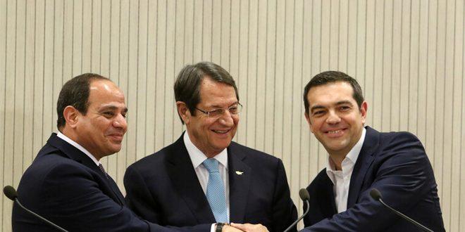 مصر ، قبرس و یونان: راه حل در سوریه سیاسی مبتنی بر احترام به حاکمیت و تمامیت ارضی آن است