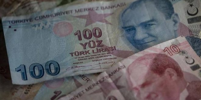 ارزش لیر ترکیه همچنان در حال سقوط است