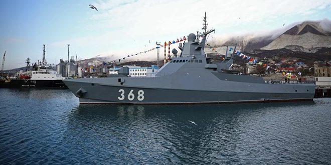نیروی دریایی روسیه مانع نقض مرزهای این کشور توسط یک ناوشکن آمریکایی شد