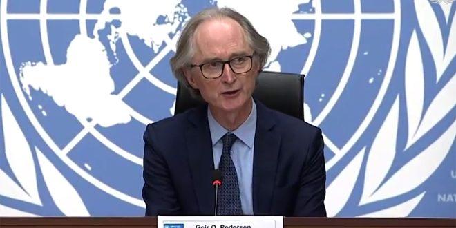 پدرسن: برگزاری دور پنجم نشست کمیته قانون اساسی سوریه در 25 ژانویه