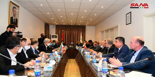 معاون رئیس ایران: اعلام آمادگی ایران برای انتقال تجارب علمی به سوریه