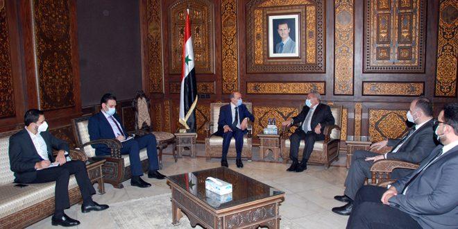 بررسی تسهیل بازگشت پناهندگان سوری به وطن خود در دیدار وزیر کشور با مشرفيه