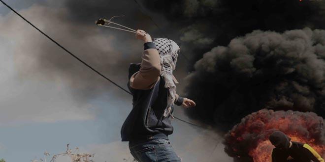 جراحت چند نفر فلسطینی در سرکوب تظاهرات هفتگی کفر قدوم توسط اشغالگر