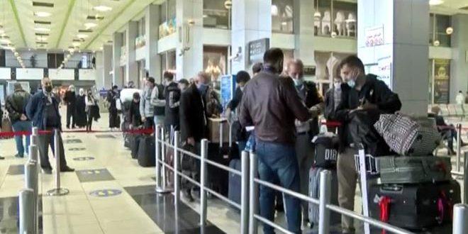 انجام نخستین پرواز از سوریه به روسیه پس از چند ماه وقفه به دلیل شیوع کرونا