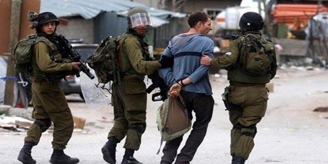 بازداشت 12 فلسطینی توسط نظامیان رژیم صهیونیستی در کرانه باختری