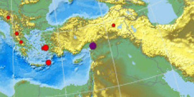 وقوع زلزله 3.5 ریشتری در شمال حلب