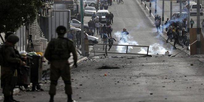 شهادت 3 فلسطینی و زخمی شدن ده ها نفر دیگر در حمله نظامیان صهیونیستی به مناطق مختلف در کرانه باختری