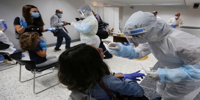 آمار کرونا در لبنان   265 مبتلای جدید و 16 فوتی