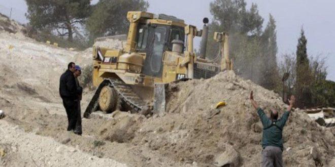 ادامه گسترش شهرک سازی توسط اشغالگر صهیونسیتی در کرانه باختری