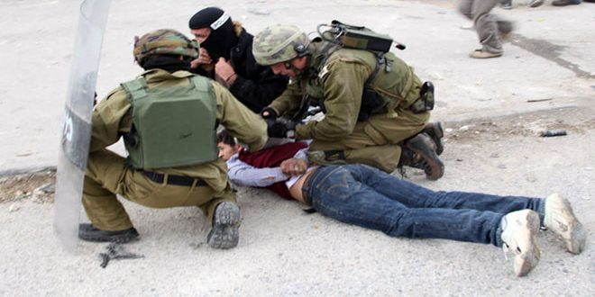 بازداشت 2 فلسطینی توسط اشغالگر در گرانه باختری
