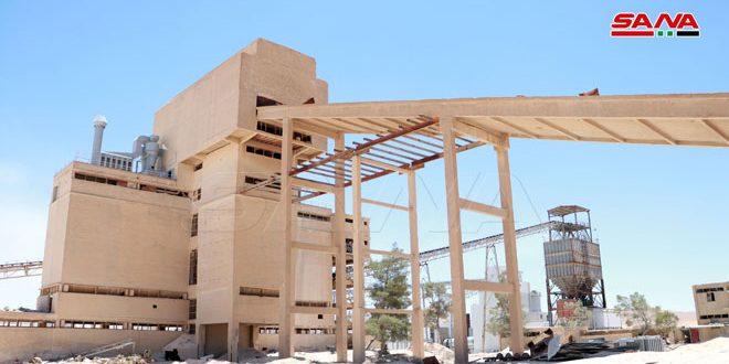 """احیای کارخانه خشک فسفات در معادن """"خنیفیس"""" و راه اندازی آزمایشی آن با ظرفیت تولید سالانه 650 هزار تن"""