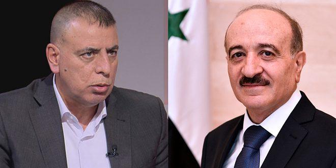 گفتگوی تلفنی الرحمون با همتای اردنی / بررسی هماهنگی و همکاری مشترک و تسهیل ترانزیت بین دو کشور
