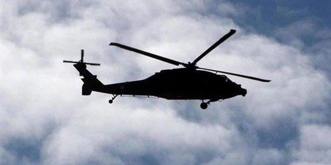 سقوط یک بالگرد نظامی عراق در صلاح الدین و کشته شدن 5 سرنشین آن