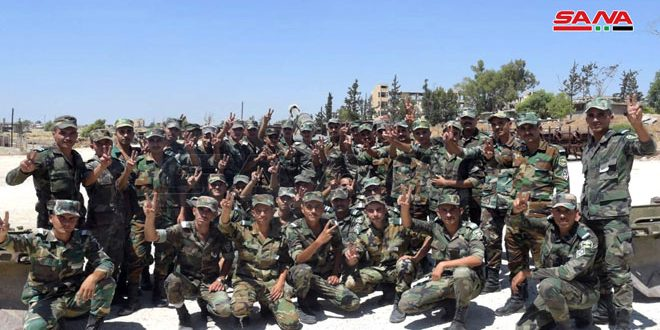 سوری های مقیم اسلواکی: ارتش عربی سوریه فداکاری های بی نظیری انجام داده و می دهد