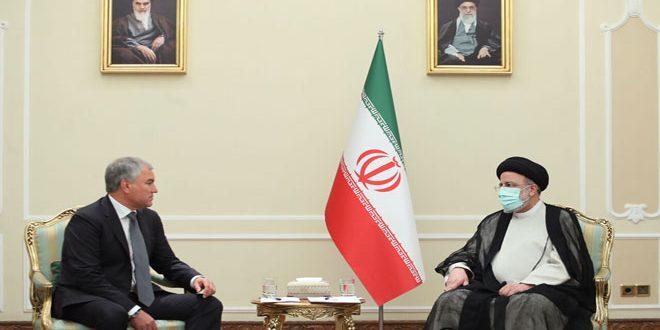 رئیسی : همکاری تهران – مسکو عاملی بازدارنده مقابل یک جانبه گرایی است
