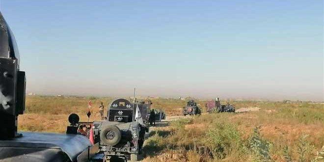 کشف 5 مخفیگاه تروریست های داعش در سامرا و کرکوک