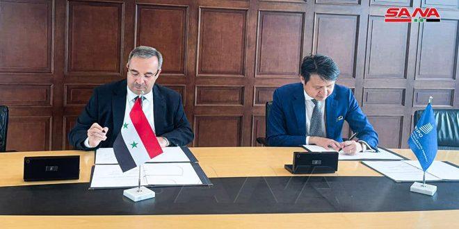 سوریه یک توافقنامه با سازمان جهانی مالکیت معنوی برای ایجاد مراکز پشتیبانی فناوری و نوآوری امضا کرد