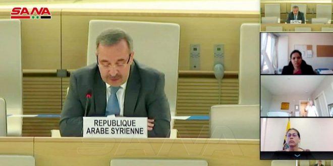 سفير آلا: رویکرد خصمانه کمیسیون تحقیق در مورد سوریه، ویژگی حرفه ای و عینی گزارش های خود را باطل می کند