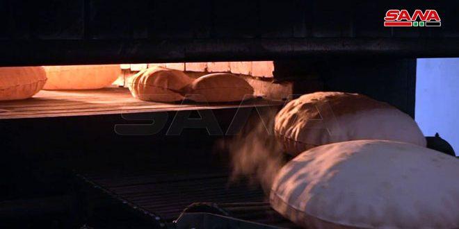 افتتاح نانوایی با ظرفیت تولید روزانه 1.5 تن در ریف شرقی دیر الزور