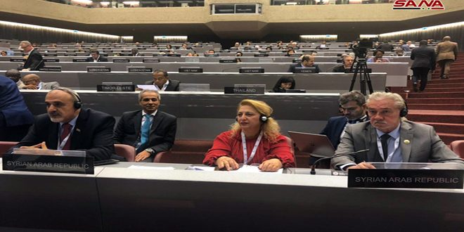 Avec la participation de la Syrie, poursuite de travaux de la 139e session de l'Union interparlementaire