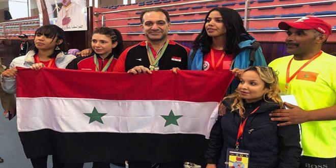 Six médailles d'or pour la Syrie au Championnat Afro-arabe de Développé couché