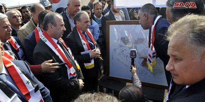 Khamis inaugure le projet de la centrale solaire photovoltaïque