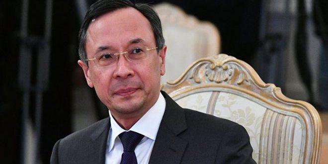 Le ministère Kazakh des AE: Tenue de la prochaine réunion d'Astana sur la Syrie les 28 et 29 de ce mois