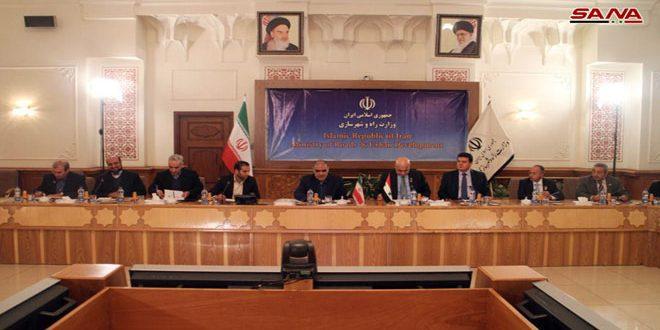 Amini souligne l'importance d'activer l'action des chambres de commerce entre la Syrie et l'Iran