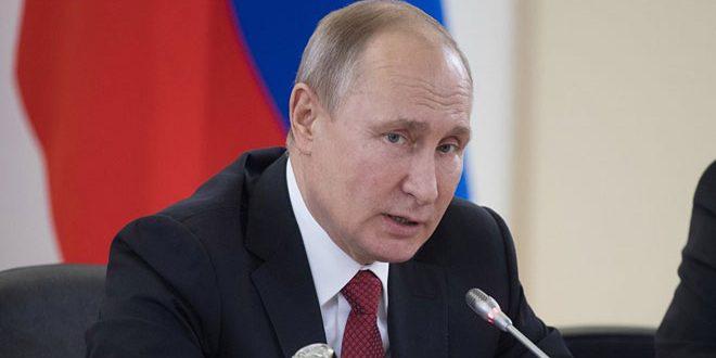 Poutine: Kazakhstan a joué un rôle constructif dans le règlement de la crise en Syrie