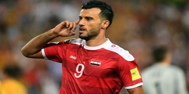 Souma est parmi les 10 meilleurs attaquants qui sont en concurrence pour le titre du buteur de la Coupe d'Asie de football