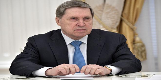 Ouchakov: Escalade remarquable des provocations des terroristes à Idleb