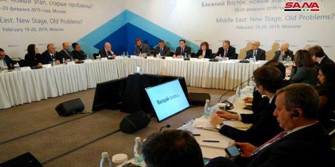 Chaabane : La Syrie poursuivra la guerre contre le terrorisme et libérera chaque pouce de sa terre
