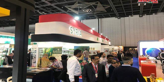 Avec la participation de 21 sociétés syriennes, ouverture à Dubaï du Salon international de l'Agroalimentaire /Gulf Food /
