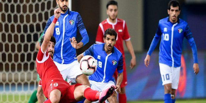La sélection syrienne olympique de football bat son adversaire koweitienne dans les éliminatoires d'Asie