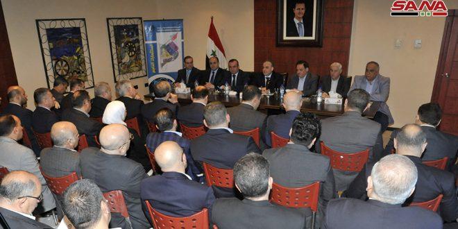 Khamis : La Syrie est déterminée à rendre la production plus importante que dans le passé