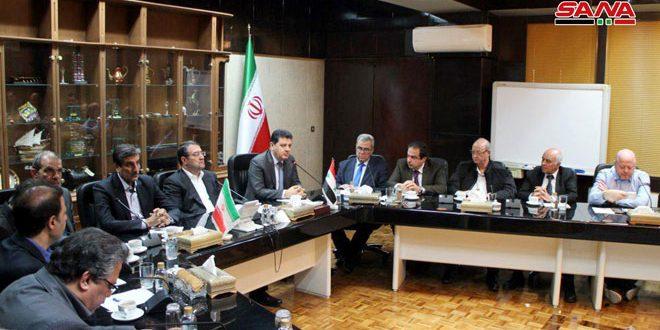 Rahmani à une délégation d'hommes d'affaires syriens: pas de limites pour promouvoir les relations irano-syriennes