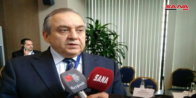 Muradov: Nous accueillons favorablement le renforcement des relations d'amitié avec la Syrie