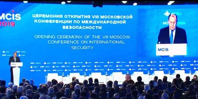 Lavrov: Nécessité de résoudre la crise en Syrie