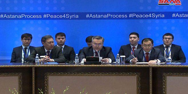 La Déclaration finale du 12eround des pourparlers d'Astana: Les pays garants réitèrent leur engagement à la souveraineté de la Syrie