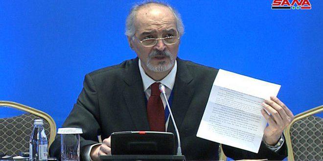 Jaafari : Les mesures occidentales unilatérales et coercitives imposées à la Syrie constituent un terrorisme économique