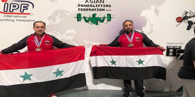 11 médailles pour la Syrie au championnat d'Asie de la force athlétique