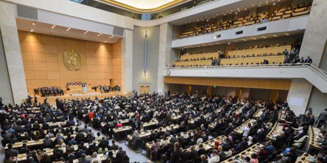Avec la participation de la Syrie, lancement lundi prochain à Genève des travaux de la 72e Assemblée mondiale de la Santé